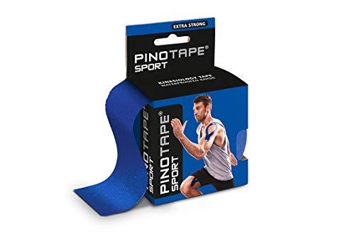 Pinotape Pro Sport © - kinesiologisches Tape 5 cm x 5 m- besonders hautverträglich (Dunkelblau)