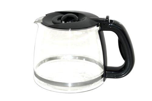 Morphy Richards 10027 Kaffeemaschine Glaskanne mit Deckel