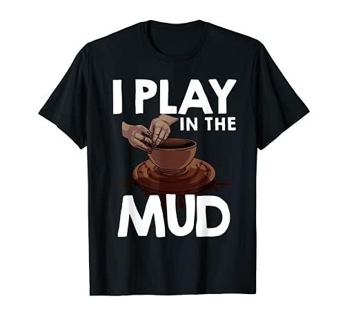 Divertido regalo de cerámica para hombres y mujeres Cool Pot Pottery Artist Camiseta