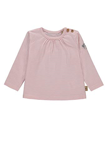 Bellybutton Kids Bellybutton mother nature & me Baby-Mädchen Langarmshirt T-Shirt 1/1 Arm, Mehrfarbig (Y/D Stripe 0001), 62