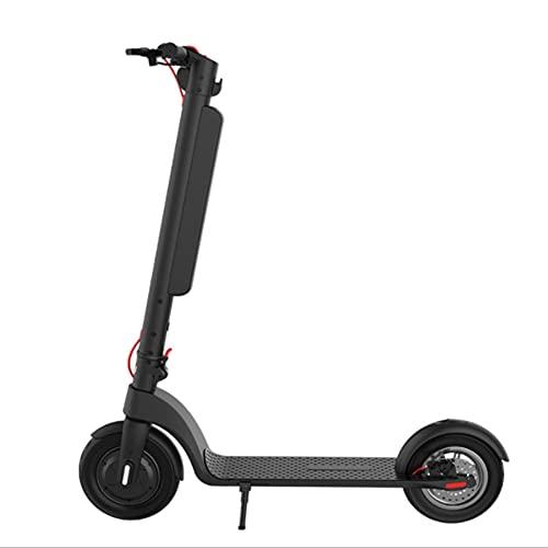 WUYANJUN Scooter eléctrico para Adultos, Mini batería de Litio de aleación de Aluminio, 45 kilómetros de Larga duración de la batería, Peso Ligero, portátil y Plegable