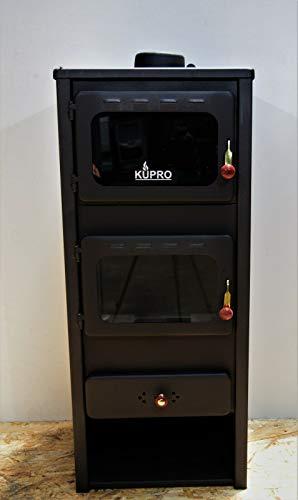 Estufa de leña con quemador de leña para horno, 8 kW