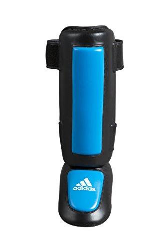 adidas Schienbeinschoner Pro Style Shin-n-Step, schwarz/Blau, S/M