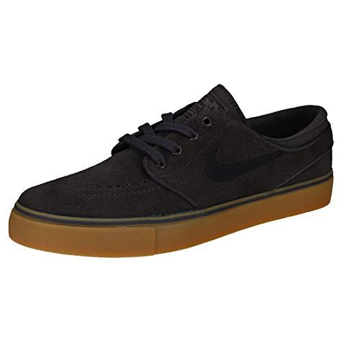 Nike Stefan Janoski (GS), Zapatillas de Skateboard Hombre, Gris (Thunder Grey/Black/Gum Light B 017), 38.5 EU
