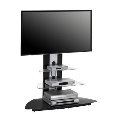 City Consulting Cuba Negro Señor 110 LCD LED LCD TV Stands hasta 152,4 cm: Amazon.es: Hogar