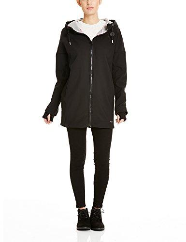 Bench Damen Mantel SURREALIST B, Gr. 40 (Herstellergröße: L), Schwarz (Black BK014)