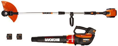 Why Choose WORX WG926 Turbine 56V 13 Cordless String Trimmer/Edger & Leaf Blower Combo Kit