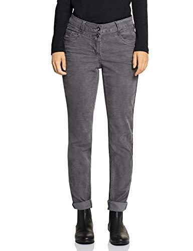 Cecil Damen 372616 Hose, Grau (Dark Graphite Grey 11437), W36/L32(Herstellergröße:36)