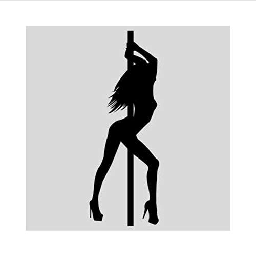 Kyzaa Happy Dance Girl Bikini Muursticker Home Decor Fashion Design Sticker gepersonaliseerd DIY Vinyl