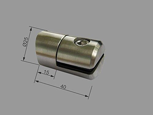PMC roestvrij stalen plaathouder voor buis 42,4 Ø25 plaatplaat plaathouder inox Sheet Holder