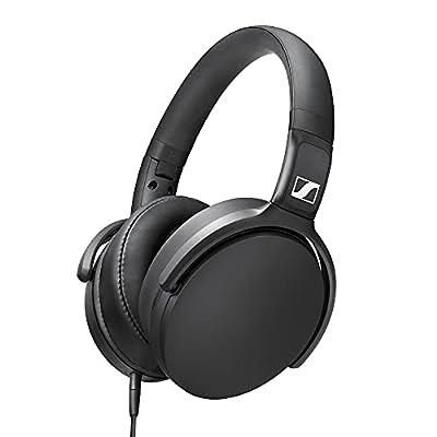Sennheiser HD 400S - Over-Ear Headphone with Smart Remote, Black by Sennheiser