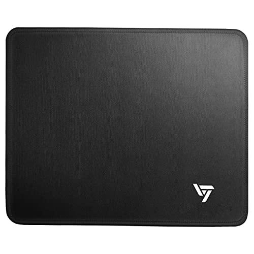 "Vic TechFL, Mouse pad Medium,Black Mouse pad, Premium-Textured Gaming Mouse Pad, Non-Slip Rubber Base Mouse Mat, Computer & PC, 10.2"" x 8.3"" x 0.8"", Medium Black"