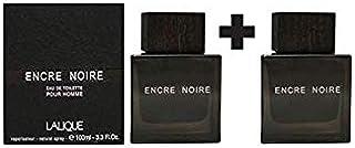Set of 2 Lalique Encre Noire Eau de Toilette for Men 100 ml