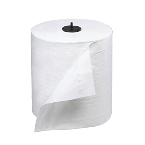 Tork 290095 Advanced Soft Single-Ply Hand Roll Towel, White (900 ft) (Case of 6)