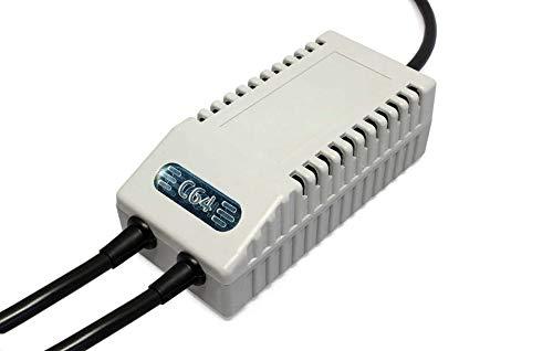 AirDrive C64 FDD Dual Netzteil Modern EU - Ersatz-Netzteil C64 FDD Dual, EU-Stecker (Grau)