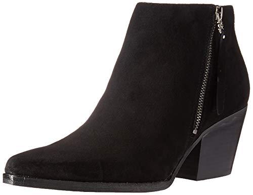 Sam Edelman Women's Walden Ankle Boot, Black Suede, 10 Medium US