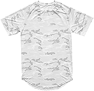 Wanxiaoyyyinnsdx Mens Henley Short Sleeve, Fashion Men's Camouflage Quick Drying T Shirts Summer New Printed Short Sleeve ...