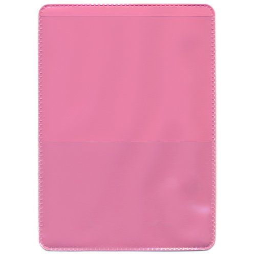 StoreSMART - Pink-Back Auto Insurance & ID Card Holders - 10 Pack - RFS20-PK10 (Best Domain Name Registration 2019)