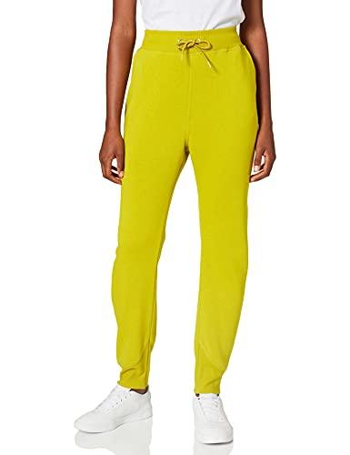 G-STAR RAW Premium Core 3D Tapered Sweatpants Pantaloni Sportivi, Dark Hivis C235-C424, L Donna