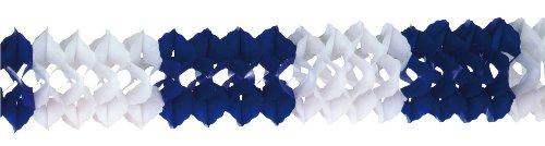 Riethmüller - 2969 - Décoration de Fête - Guirlande - Couleur Bleu et Blanc