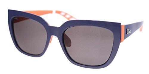 Dior Damen DIORDECALE2 Y1 BSK 53 Sonnenbrille, Blau (Bluette Coral/Grey)