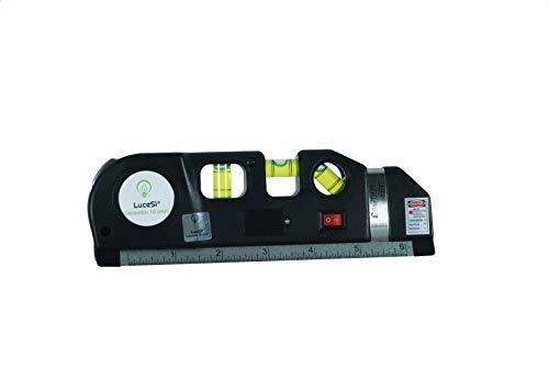 lucesì-Nivel Laser Triple Level Pro 3en 1con iluminación Metro 250cm de precisión 3burbujas hazlo tú mismo electrónica