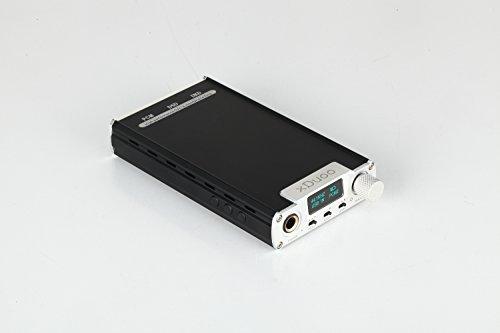 xDuoo DSD対応 DAC搭載 ポータブルオーディオヘッドホンアンプ シルバー XD-05 MUSES02 Ver. SV