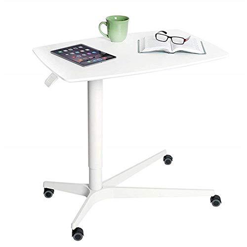 Escritorio portátil portátil para computadora portátil Escritorio para computadora portátil de altura ajustable, móvil para sentarse y pararse, mesa ergonómica, excelente atril para aulas, oficinas