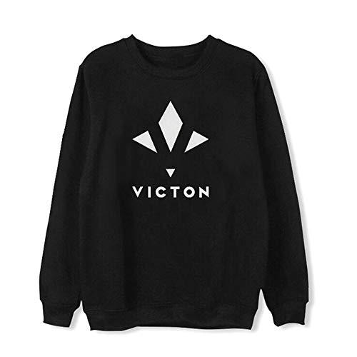 Maisley Victon Pullover KPOP Mode Sweater Koreanische Bandgruppe Sweatshirt Runder Kragen Tops Für Männer Frauen