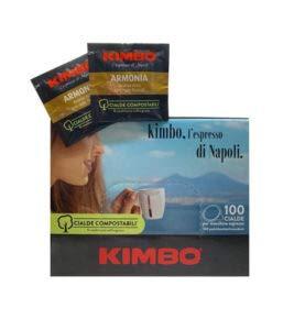 CAFÉ KIMBO 100% ARABICA - Box 100 VAINAS ESE44 7g