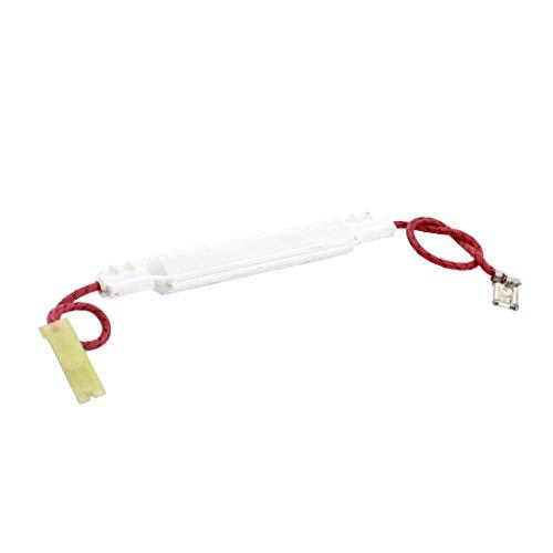 New Lon0167 5KV 0.7A Destacados Blanco Plástico Cubierto eficacia confiable Horno de microondas Fusible de alto voltaje Protección del circuito w Terminales de crimpado de pala(id:35b 40 7d 4b