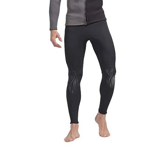 WYYHAA 3MM Neopren Herren Wetsuits Jacke und Hose Langarm-Frontreißverschluss für Tauchen Surfen Schwimmen Scuba,Pant,4XL