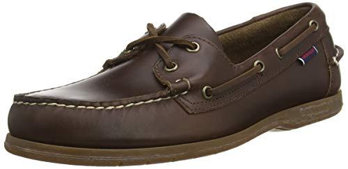 Sebago Endeavor, Men's 7000GC0 Boat Shoes Blue Navy-Gum 7 UK, 41 EU