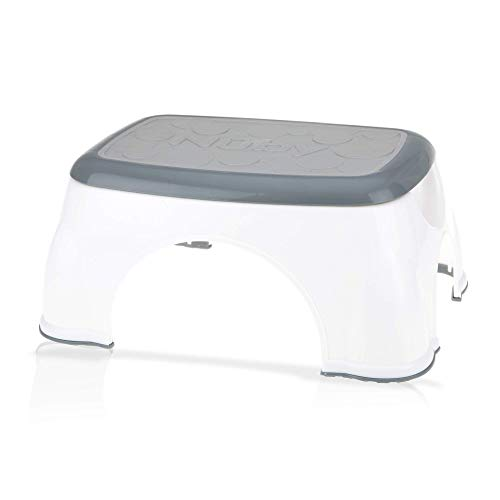 Nuby Step Up Stool Gray