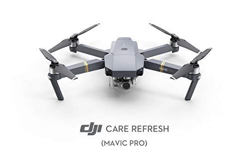 DJI Care Refresh Mavic Pro/Mavic Pro Combo Assicurazione Completa Care Refresh Per Drone, Copre da Danni, Cadute e Acqua, Fino a 2 Sostituzioni, Valida 12 Mesi e Attivabile Entro 48 Ore