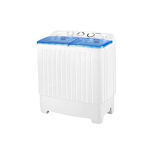 BANGSON Portable Washing Machine, Mini Twin Tub Washer...