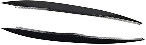 Scheinwerfer Augenbrauen Augenlider ABS Carbon Aufkleber, Für VW Golf 7 MK7 Rline GTI R.