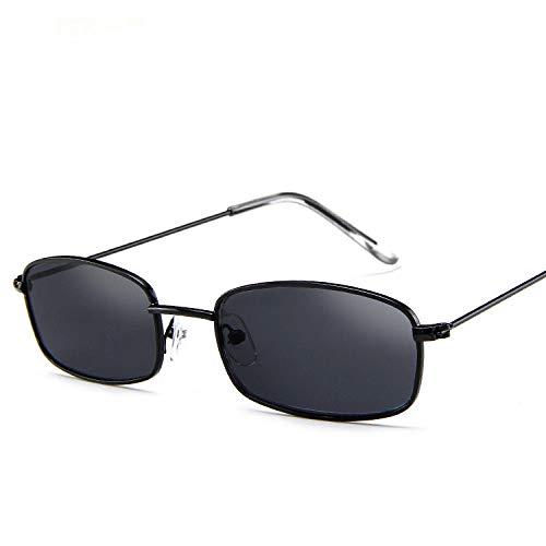 DLSM Gafas de Sol rectangulares pequeñas Mujeres Gafas de...