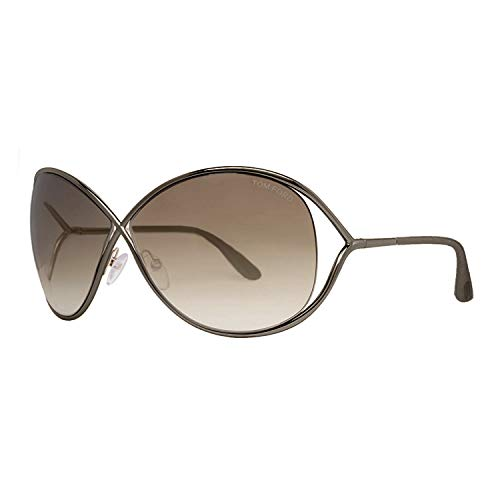 Tom Ford 'Miranda 36F' Shiny Bronze Metal Sunglasses