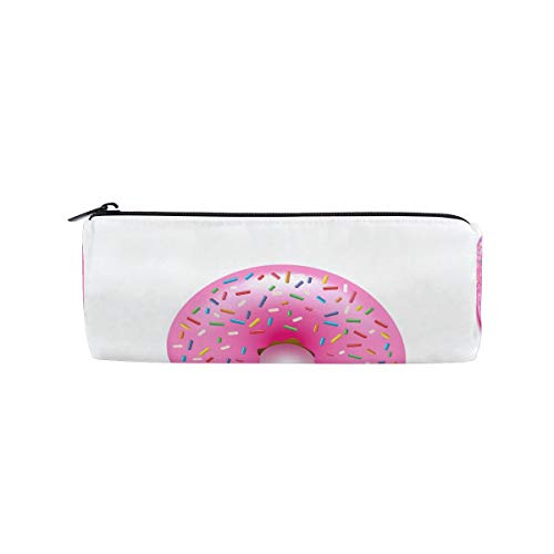Montoj Trousse à maquillage avec donut rose et bonbons Kawaii