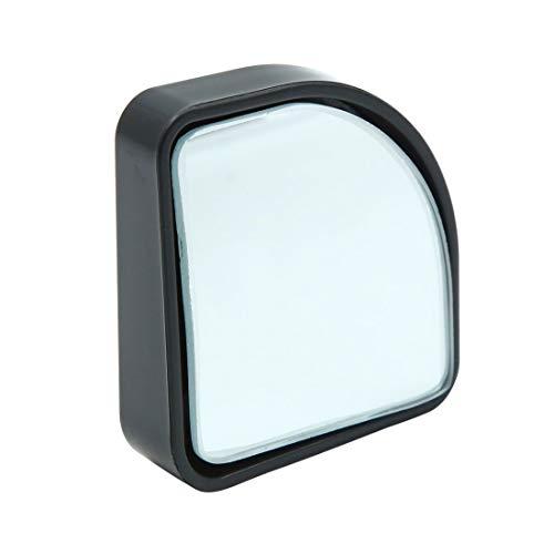 X AUTOHAUX Auto-Spiegel, 360 ° Winkel, kleine Hilfslinse, Tote Punkte, gebogener Spiegel