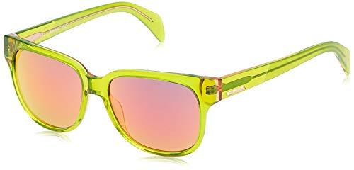 Diesel DL0074 5598U Sonnenbrille DL0074 5598U Rechteckig Sonnenbrille 55, Grün
