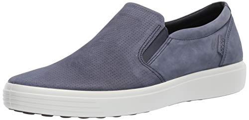ECCO mens Soft 7 Slip on Sneaker, M…