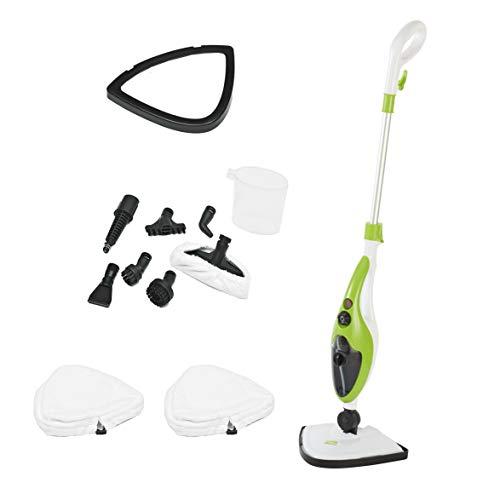 10 in 1 1500W Neo® Hot Steam Mop Cleaner Floor Carpet Window Washer Hand...