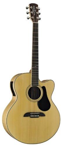 Alvarez Artist Series AJ80CE Jumbo Acoustic - Electric Guitar, Natural/Gloss Finish