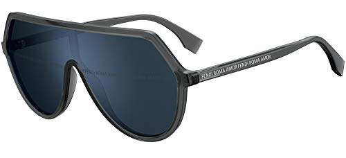 Fendi FENDI ROMA AMOR FF 0377/S GREY/BLUE 99/1/140 women Sunglasses
