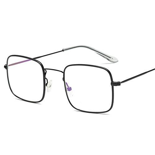 YTYASO Gafas de Sol cuadradas para Mujer, Gafas de Sol para Mujer, Gafas de Sol sin Montura para Mujer, Hombre, Gafas de Sol