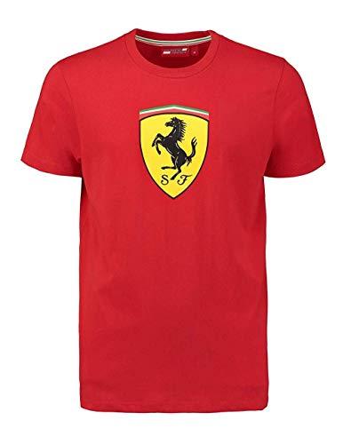 Camiseta Oficial Ferrari Scuderia Classic F1 - Rojo - S