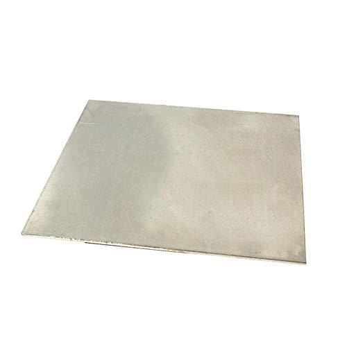 SOFIALXC Cupronickel Kupfer-Nickelblech Nickel-Platten-Foil 100Mm / 3.93Inch X200mm / 7.87Inch 1Pcs,Thickness 1mm