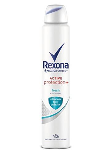 Rexona Desodorante Antitranspirante Active Pro+ Frescor Mujer 200ml Pack de 6: Total 1200ml